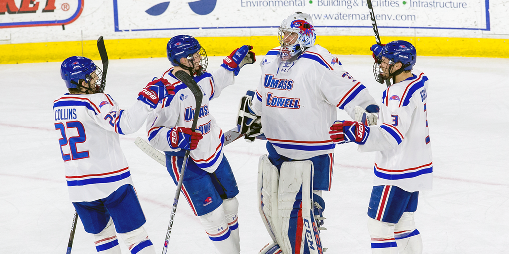 Image result for umass lowell hockey 2018